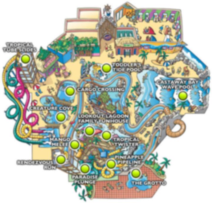 castaway bay indoor waterpark cedar point ohio