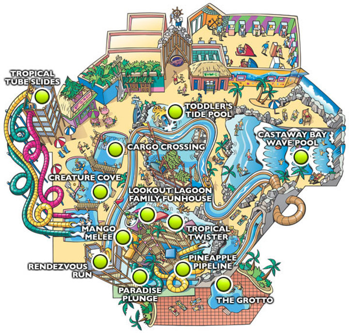 castaway bay indoor waterpark cedar point ohio