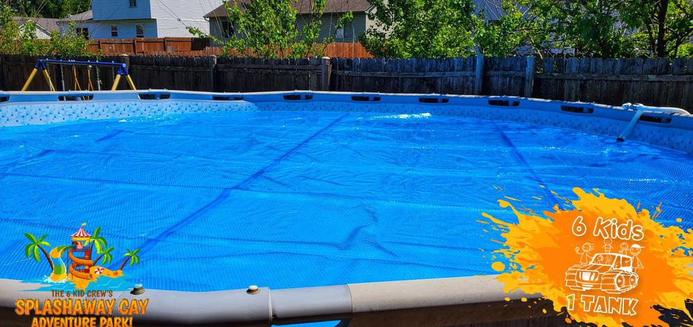 Solar Pool Blanket Cov