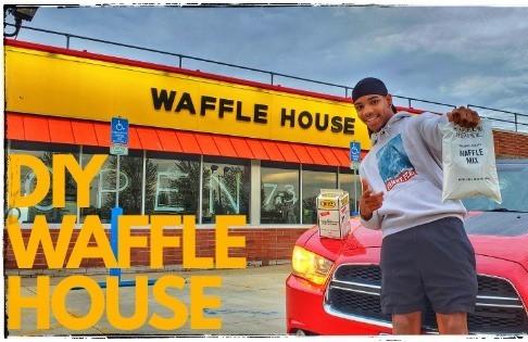 diy waffle house