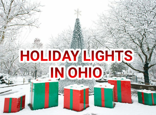 Holiday lights in ohio