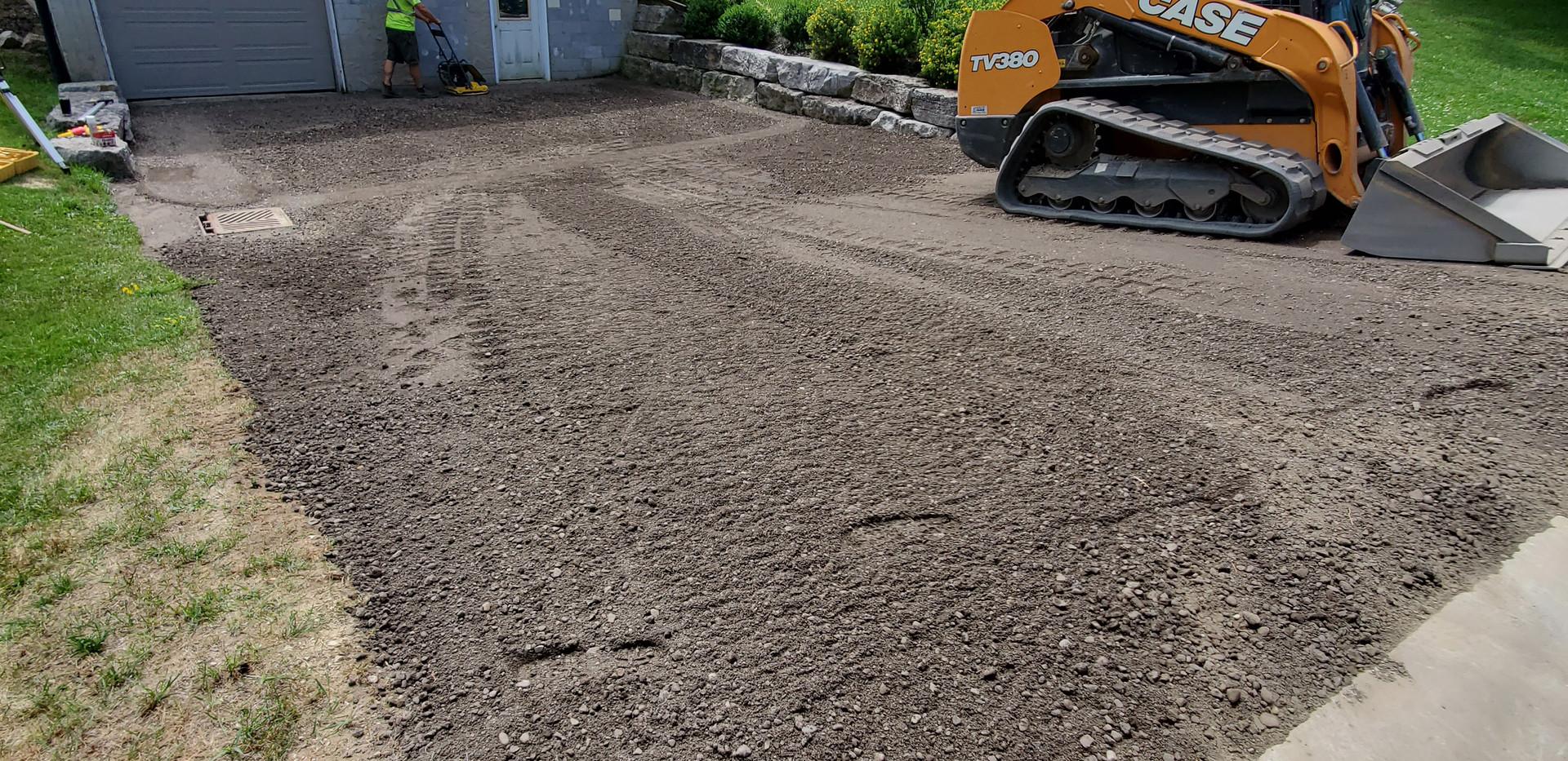 Recycled Asphalt Driveway Install