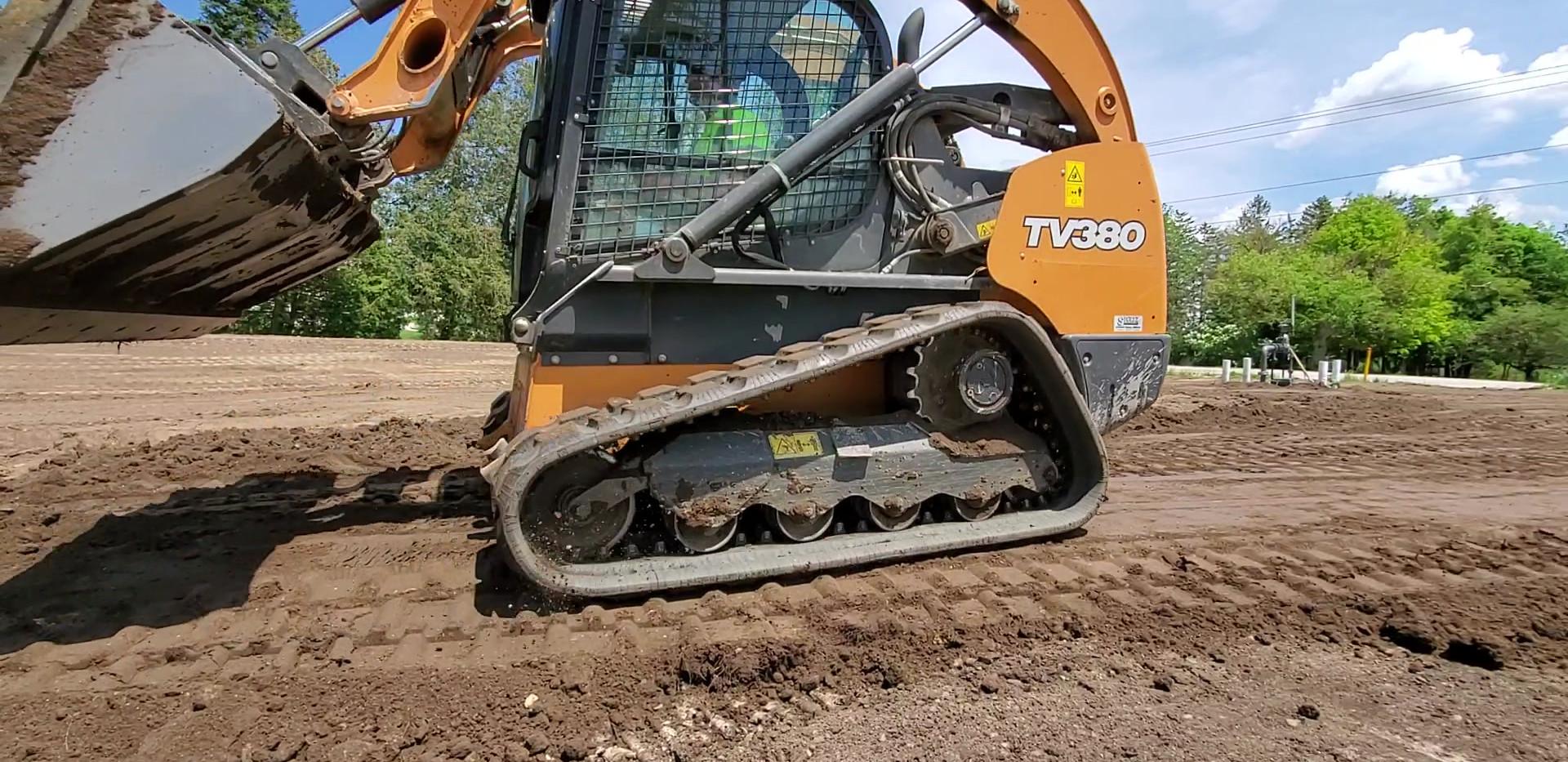 Grading Topsoil