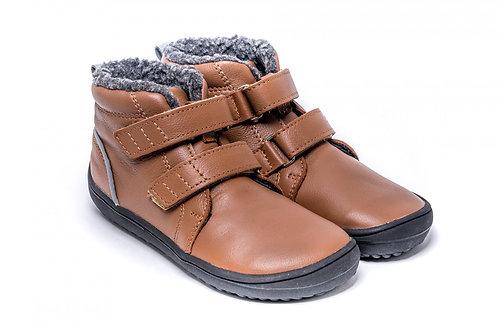 Be Lenka Kids Winter barefoot - Penguin - Chocolate