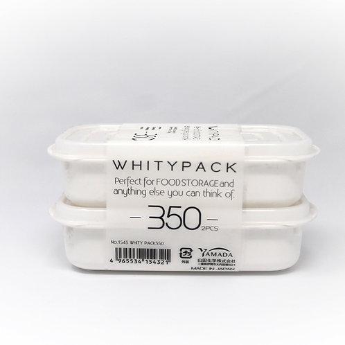 Contenedor White 350ml