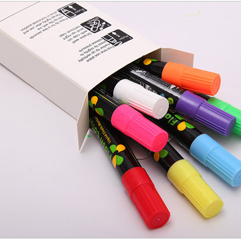 Marcadores Fluorescentes 6mm