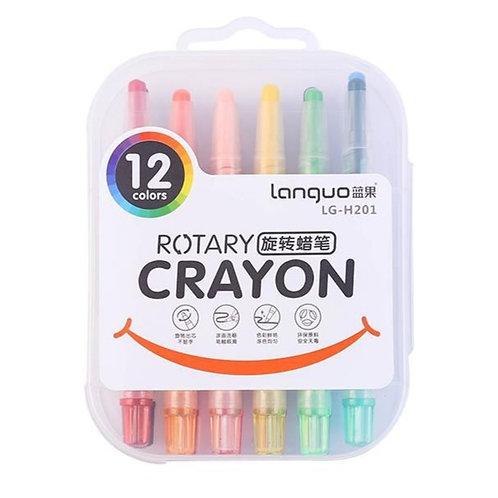 Crayones Rotativos 12 Colores