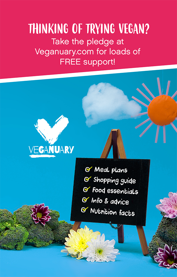 link to Veganuary site