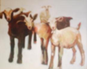Animal paintings by Julia McNeely