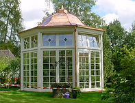 Timber sliding doors for conservatories