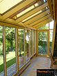 Timber sunroom design ideas. Wooden conservatory.