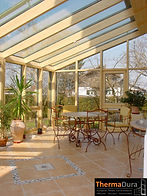 Double glazed timber wooden conservatory design NZ.