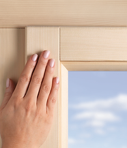 Durable window finish