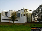 Commerical and contemporary conservatory design.
