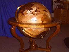 Timber globes
