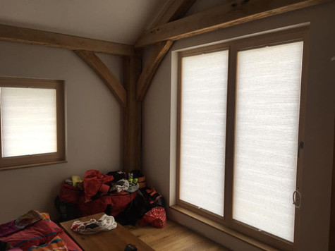 French doors with Twingo blinds