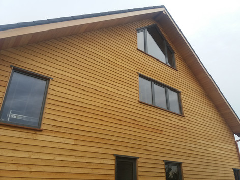 DesignLine windows in weatherboard
