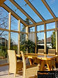 Gable conservatory design. Made in NZ. Wooden timber conservatories.