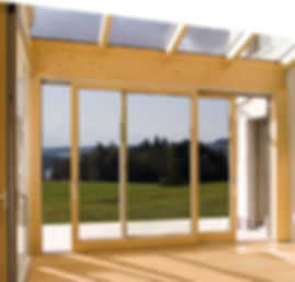 ThermaDura manufactures timber sliding doors for conservatories in New Zealand.