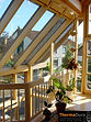 Conservatories intergrated into roof. NZ made sunrooms.