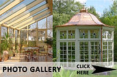 Wooden conservatory gallery. Double glazing for conservatories.