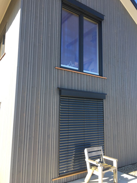 DesignLine windows with ROMA external blinds