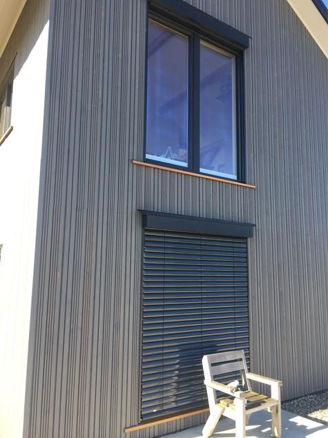 DesignLine windows with ROMA external blinds