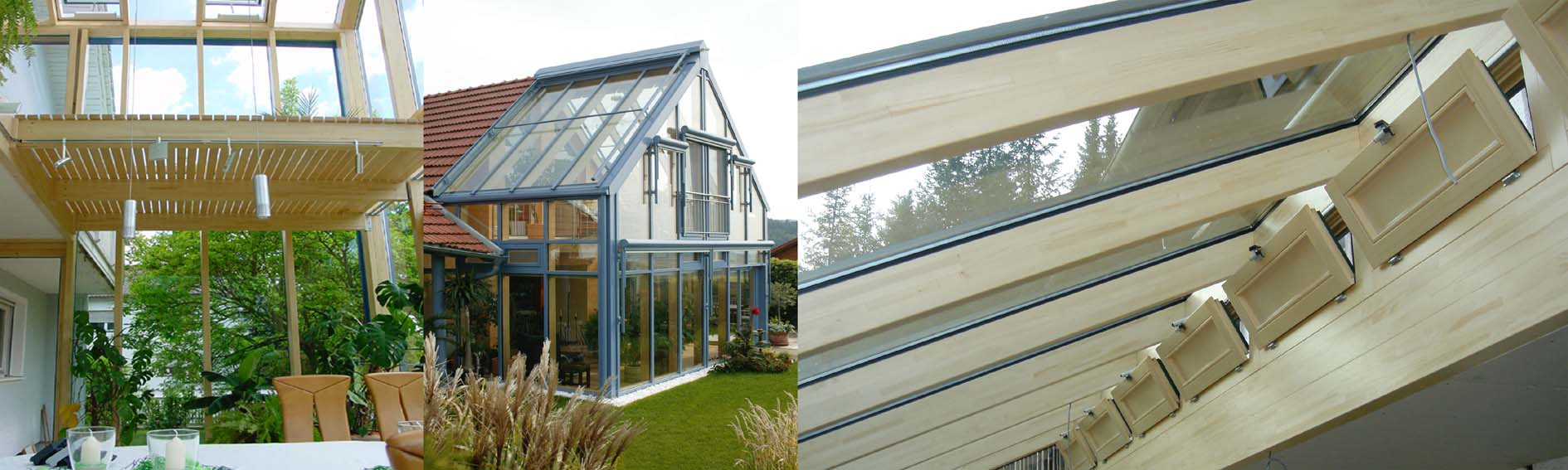 Timber conservatory design