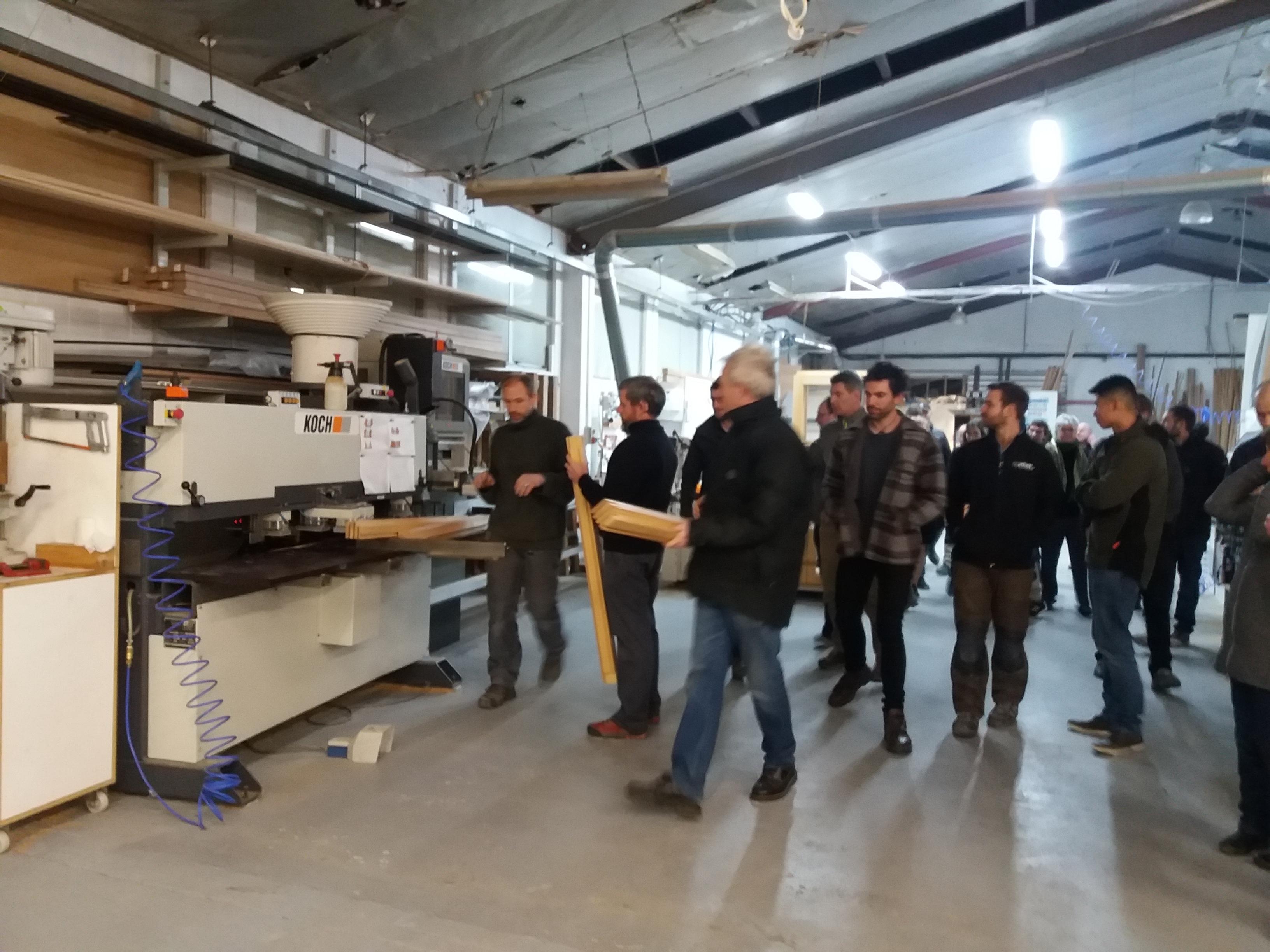 CNC dowling machine