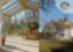 Wooden conservatory