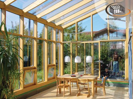 Double glazed conservatory