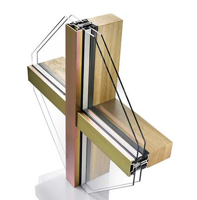 ThermaDura manufactures timber curtain wall systems in New Zealand. Double and triple glazed options available.