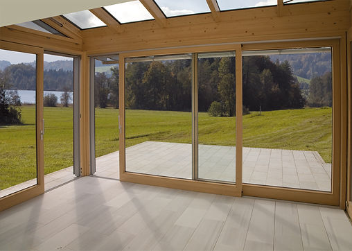 ThermaDura timber conservatories are double glazed