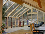 Wooden double glazed  loft conservatories and sunrooms.