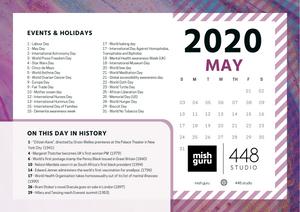 May 2020 content calendar