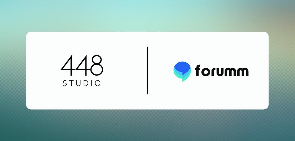 448 Studio and Forumm logos