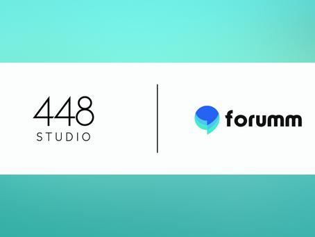 448 Studio Ltd acquires Forumm