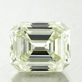 Fancy Light yellow Green Loose Diamond