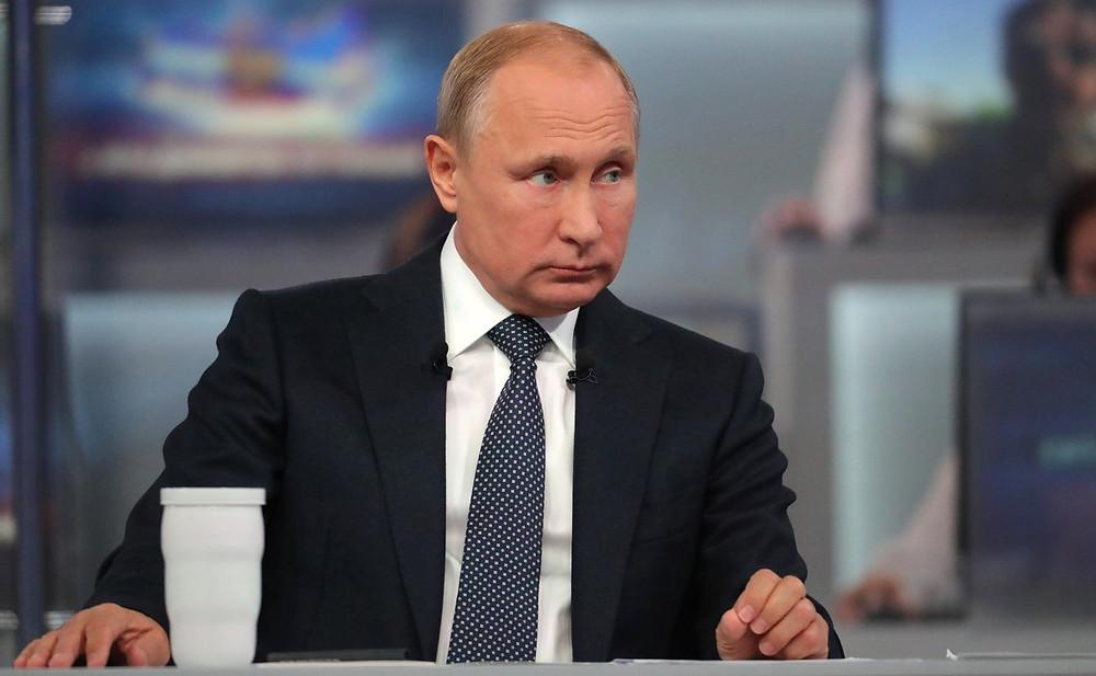 Владимир Путин. 16-я Прямая линия 2018 года