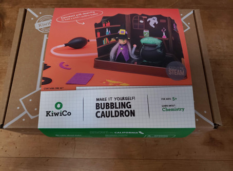 STEM Product Review: Kiwi Crate's Bubbling Cauldron Plus #Giveaway