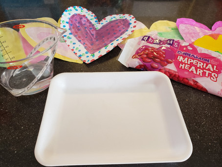 Edible Science: Dissolving Candy Hearts