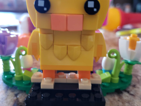 STEM Product Review: Lego BrickHeadz Easter Chick Plus #Giveaway!