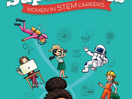 Back to School Book Reviews-  Everyday Superheroes: Women in STEM Careers