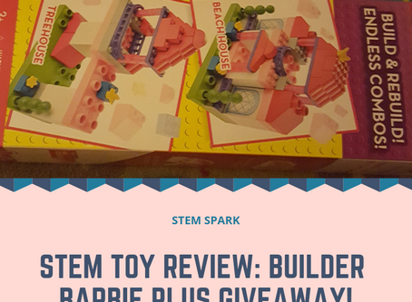 STEM Toy Review: Builder Barbie + #Giveaway!