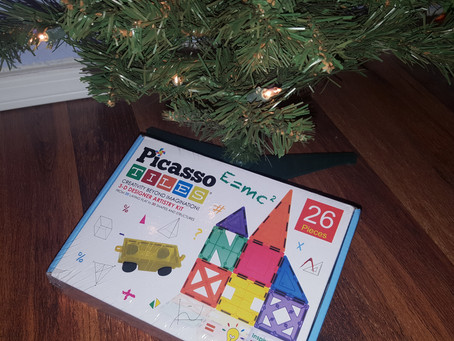 STEM Product Review: Revisiting Magnetic Building Block Set, Plus #Giveaway!