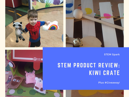 STEM Product Review: Kiwi Crate Plus #Giveaway