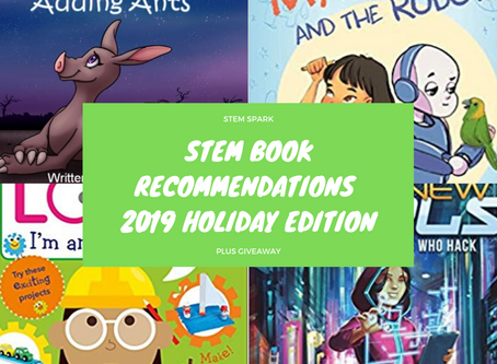 STEM Book Recommendations:  2019 Holiday Edition plus #Giveaway