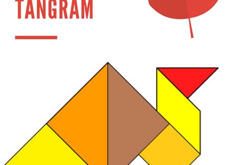 Free Turkey Tangram for Thanksgiving!