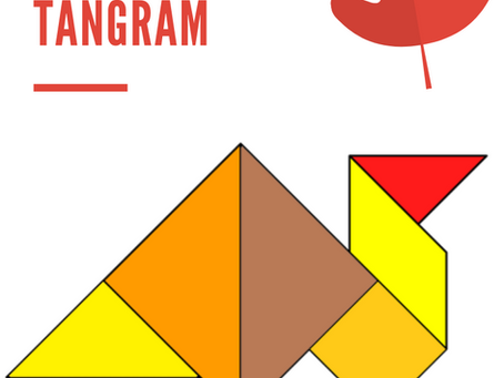 Free Turkey Tangram for Thanksgiving!