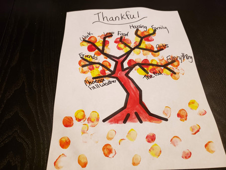 STEAM Activity: Gratitude Tree
